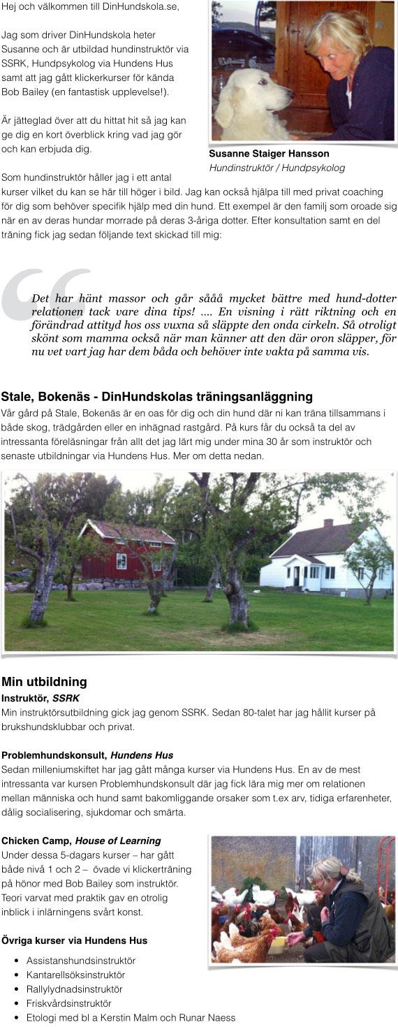 DinHundskola-Hemsida